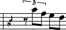 Redman's second motif for Turnaround