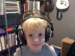 Ian in Headphones